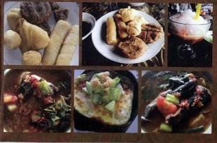 Menu makanan khas Palembang