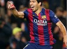 Pahlawan kemenangan Barca, Suarez atas Madrid. Foto: ilustrasi.
