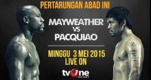 Pertarungan Akbar Mayweather vs Pacquiao Diperkirakan  Akan Meraup Keuntungan  Rp 5,2 Trilliun