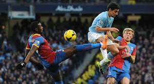 Crystal Palace Tundukan Manchester City 2-1. Foto: Ilustrasi
