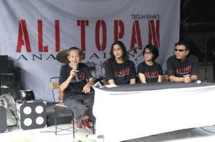 Prescon Film Ali Topan Anak jalanan. Foto: Dudut Suhendra Putra.