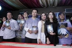 Prescon film Bulan Terbelah di Langit Amerika, Sabtu (20/6/2015) di Istanbul Turkey Restoran, Jakarta. Foto: Dudut Suhendra Putra.