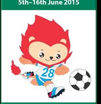 Logo Sea Games ke 28 untuk cabang Sepakbola. Foto: ilustrasi.