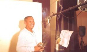 Tukul Arwana untuk pertamakali rekaman lagu religi. (Foto: Ibra)