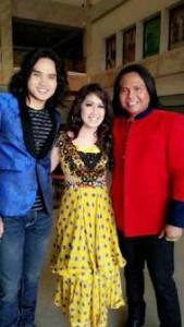Roman D Man, Ine Chintya dan Ageng Kiwi tampil di Bungo Jambi. Foto: Dok. Pribadi.