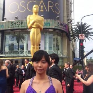 Livi Zheng hadir di piala Oscar 2015. Foto: ist