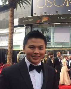 Ken Zheng hadir di piala Oscar 2015