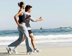 Lari atau jogging, olah raga sehat dan murah. Foto: ilustrasi,