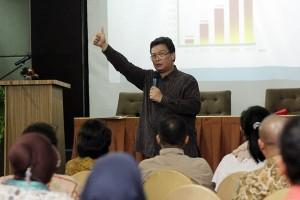 Asisten Deputi Pengembangan Kementerian Pariwisata,  Noviendi Makalam. Foto: DSP.
