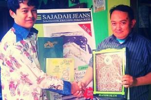 Umar Saad pemilik usaha 'Jeans Moslem'