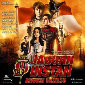 Poster film Jagoan Instan. Foto: Ist.