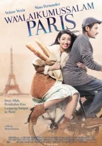 Poster film Wa'laikum Salam Paris. Foto: ist.