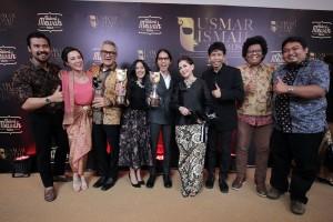 Film Surat Dari Praha Terbaik di Usmar Ismail Award 2016. foto: Ist.