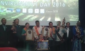 Mereka yang berjaya di IFFEHC 2016. Foto: Ibra