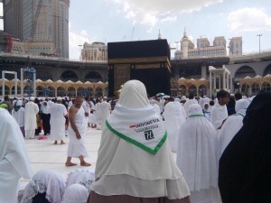 Jema'ah Hannien Tour di Tanah Suci. Foto: ist.