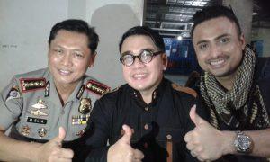 Bhabinkamtibnas dan Pembina FKPM. Kombes Pol M.Elia W Mastoko, Ketum Pafindo Gion Prabowo dan Rizal Djibran. Foto: Ibra