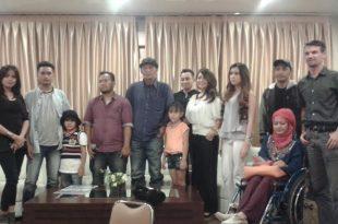 Prescon Sang Penakluk The Movie, Kamis (30/6/2016) di Jakarta. Foto: Ibra.