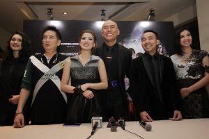 Prescon film Triangle The Dark Side. Foto: Dudut Suhendra Putra.