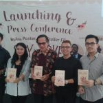 Peluncuran novel, trailer, dan poster film Spy In Love. Foto: Ibra.