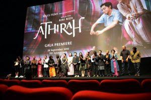 Nobar film Athirah. Foto: ist.