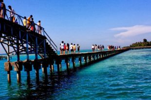 "Pulau Tidung, Kepualauan Seribu. Foto"" Ilustrasi."