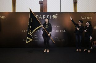 Marcela Zalianty, Ketum Parfi 56 priode 2016-2021. Foto: Dudut Suhendra Putra.