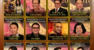 Pafindo Dapat Penghargaan Excellence Institute for National Movies di Heartline Awards 2016