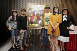 PeluncuranPoster dan trailer  film Hangout. Foto: Dudut Suhendra Putra.
