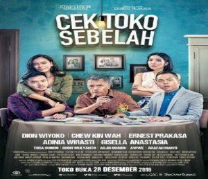 Poster film Cek Toko Sebelah. Foto: Ist.