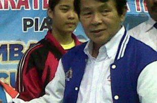 Teks foto: Nelwan Rompis  Ketua panitia kejuaraan karate Asia SBY Championships XIV/2017.(Ist)