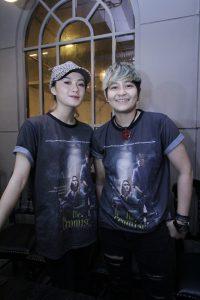 Duo The Virgin main film bareng di The Promise. Foto: Dudut Suhendra Putra.