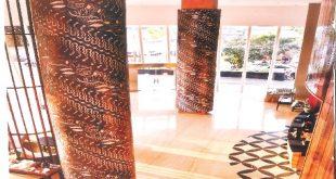 Batik di Hotel. Foto: Ist.