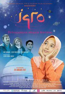 Poster film Iqro. Foto: ist.