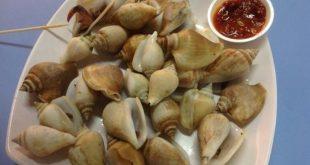 Siput Gonggong, Makanan Khas Itu Kini Jadi Ikon Wisata Tanjungpinang