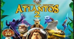 Poster film Petualangan Singa Pemberani Atlantos 2. Foto: Ist.