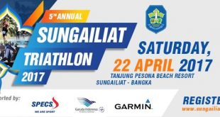 Sungailiat Triathlon 2017, Agenda Wajib Tahunan Atlet Triathlon Indonesia