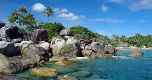 Diusulkan Pantai Tanjung Tinggi, Belitung, Masuk Global Geopark Network