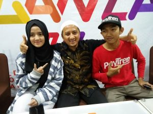 Ustd. Yusuf Mansyur libatkan anak dan adik ipar gerakan usaha bisnis digital PayTren. Foto: Ibra.
