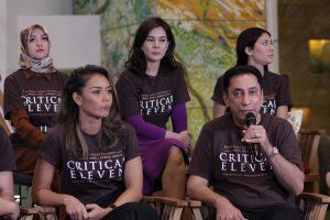 Prescon film Critical Eleven, Jumat (5/5/2017) di Jakarta. Foto: DSP.