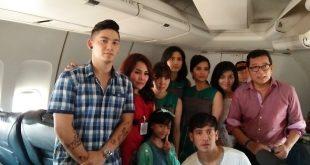 Flight 555, Kisah Drama Komedi Pertama 100 % Film Nasional di Pesawat