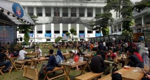 Ngopi di Museum Mandiri, Jakarta, Merajut Celoteh Kaum Urban