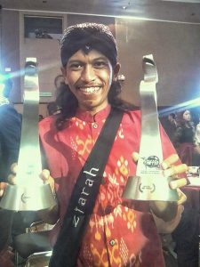 Produser film Ziarah Purba bangga filmnya menang di Malaysia. FotoL Ist.