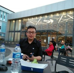 Yoenka, CEO Kota Cinema Mall. Foto: Ibra.