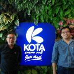 COO Kota Cinema Mall, Sudaddi Kanan) dan CEO, Kota Cinema Mall, Yoenka (kiri). Foto: Ibra