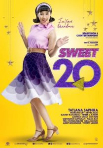 Poster film Sweet 20. Foto: ist.