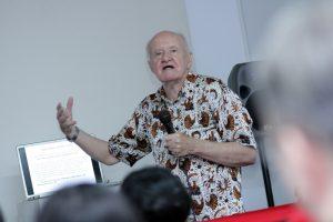David Hanan. Foto: Dudut Suhendra Putra.