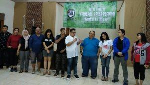 Panitia dan Pengurus Pafindo di acara Halal Bihalal dan Pembekalan artis Muda Pafindo, Jumat (28/7/2017) malam, di Ciawi, Bogor. Foto; Ibra.