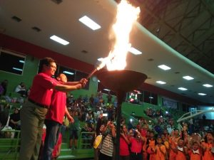 Kadispora DKI, DR H. Ratiyono, MMSi saat membuka Popprov I/2017. Foto: Ibra