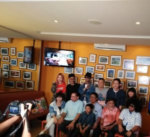 Prescon peluncuran film The Underdogs. Foto: Ibra,