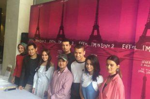 Prescon film Eiifel..I'm Love 2, Jumat (15/9/2017) di Jakarta. Foto: Ist.